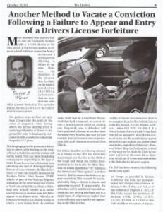 Waukegan DUI Lawyer Article